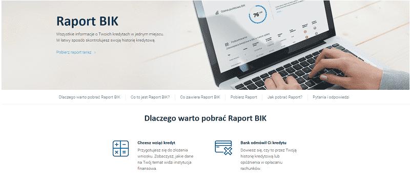 Raport BIK